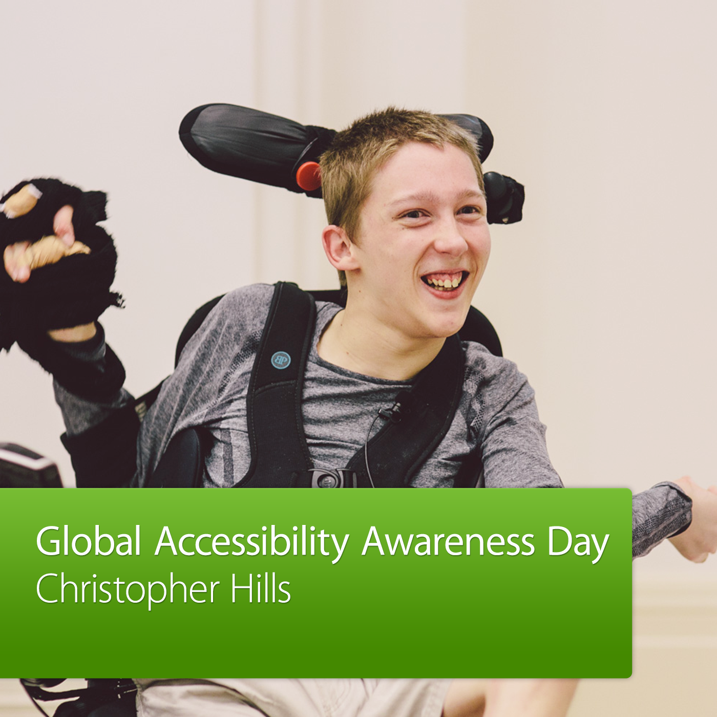 Global Accessibility Awareness Day: Christopher Hills