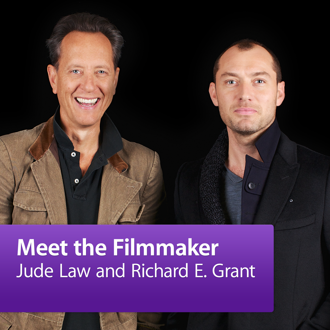 Jude Law and Richard E. Grant: Meet the Cast