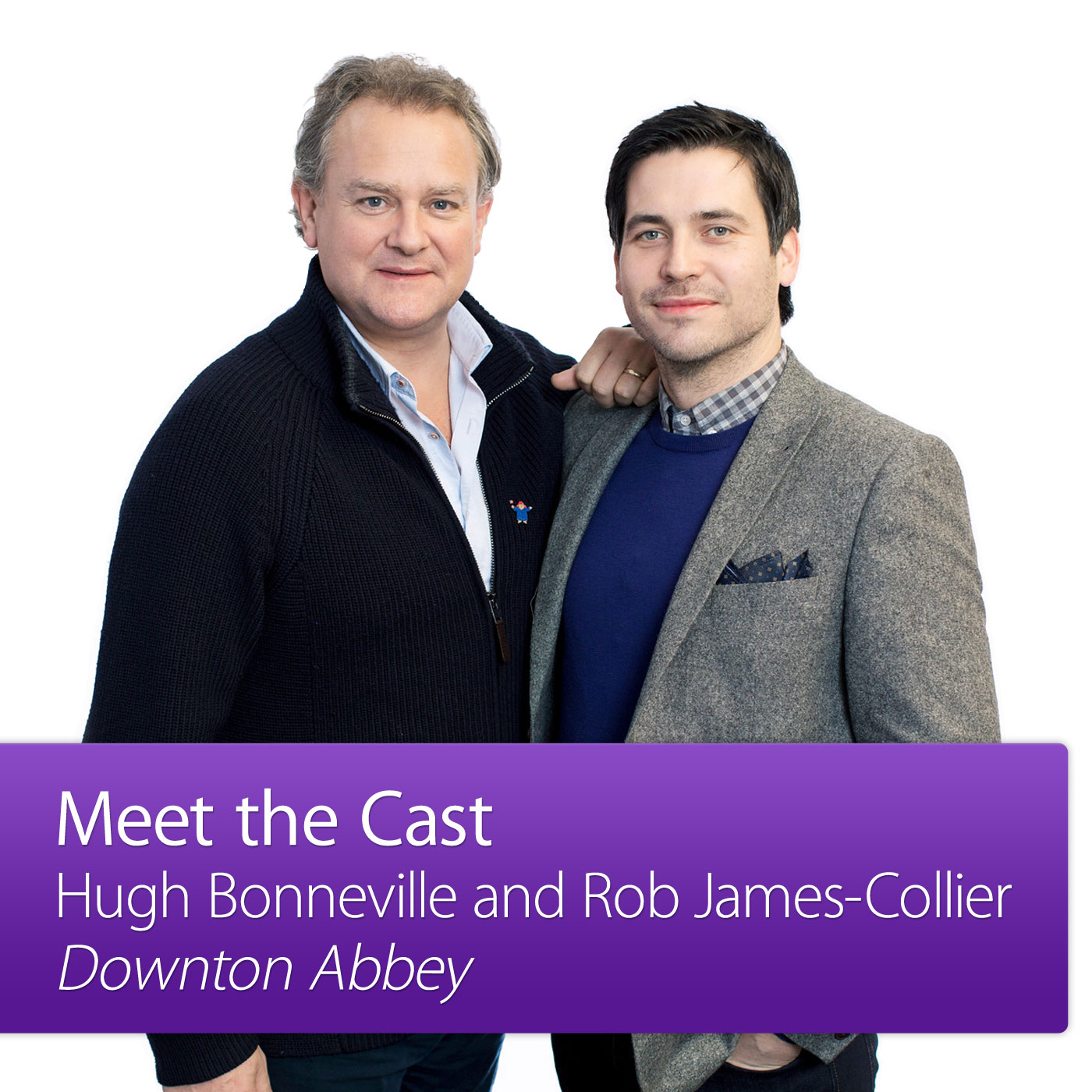 Hugh Bonneville and Rob James-Collier: Meet the Cast