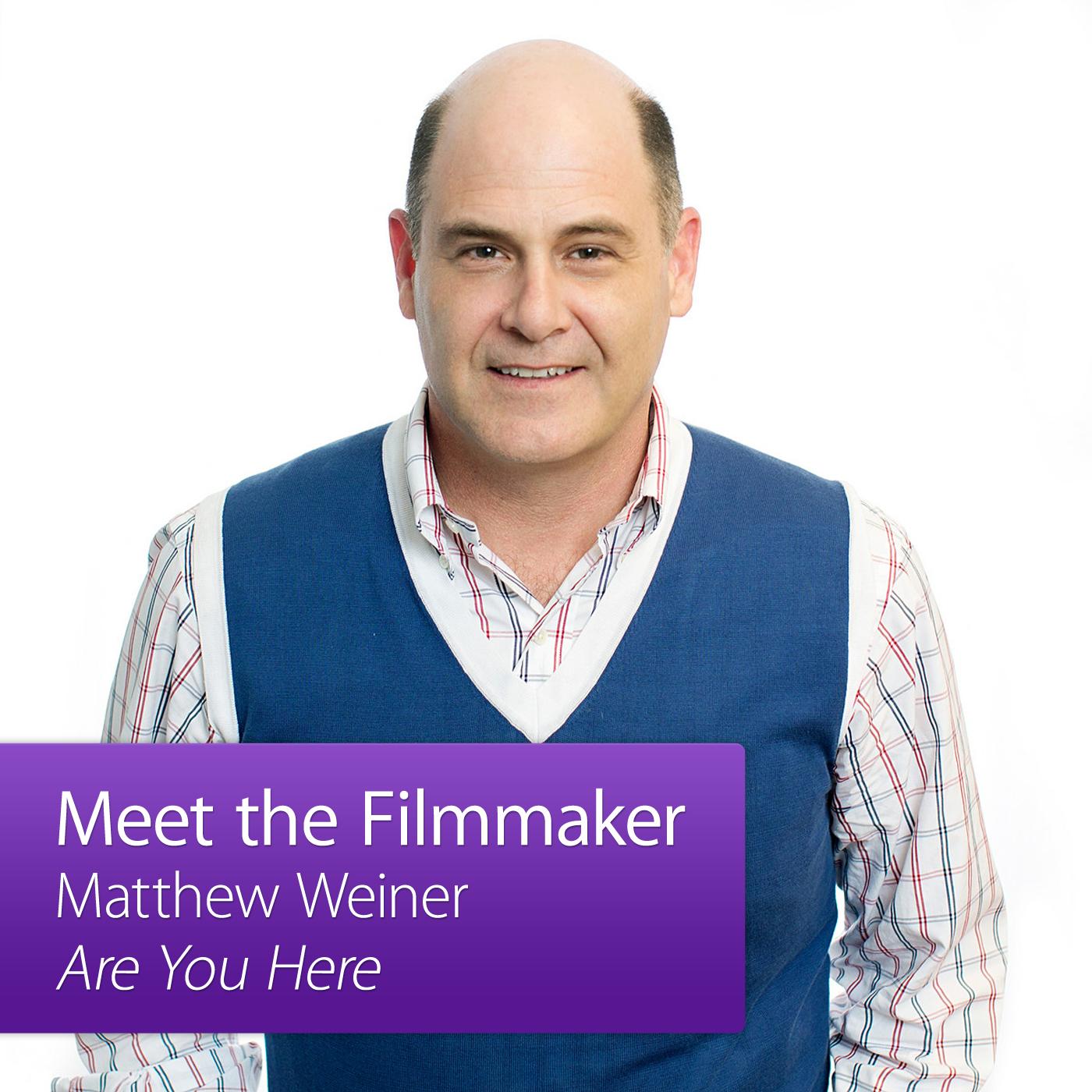 Matthew Weiner: Meet the Director
