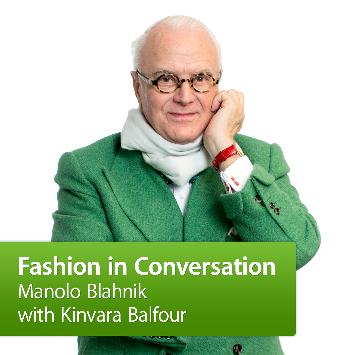 Manolo Blahnik with Kinvara Balfour