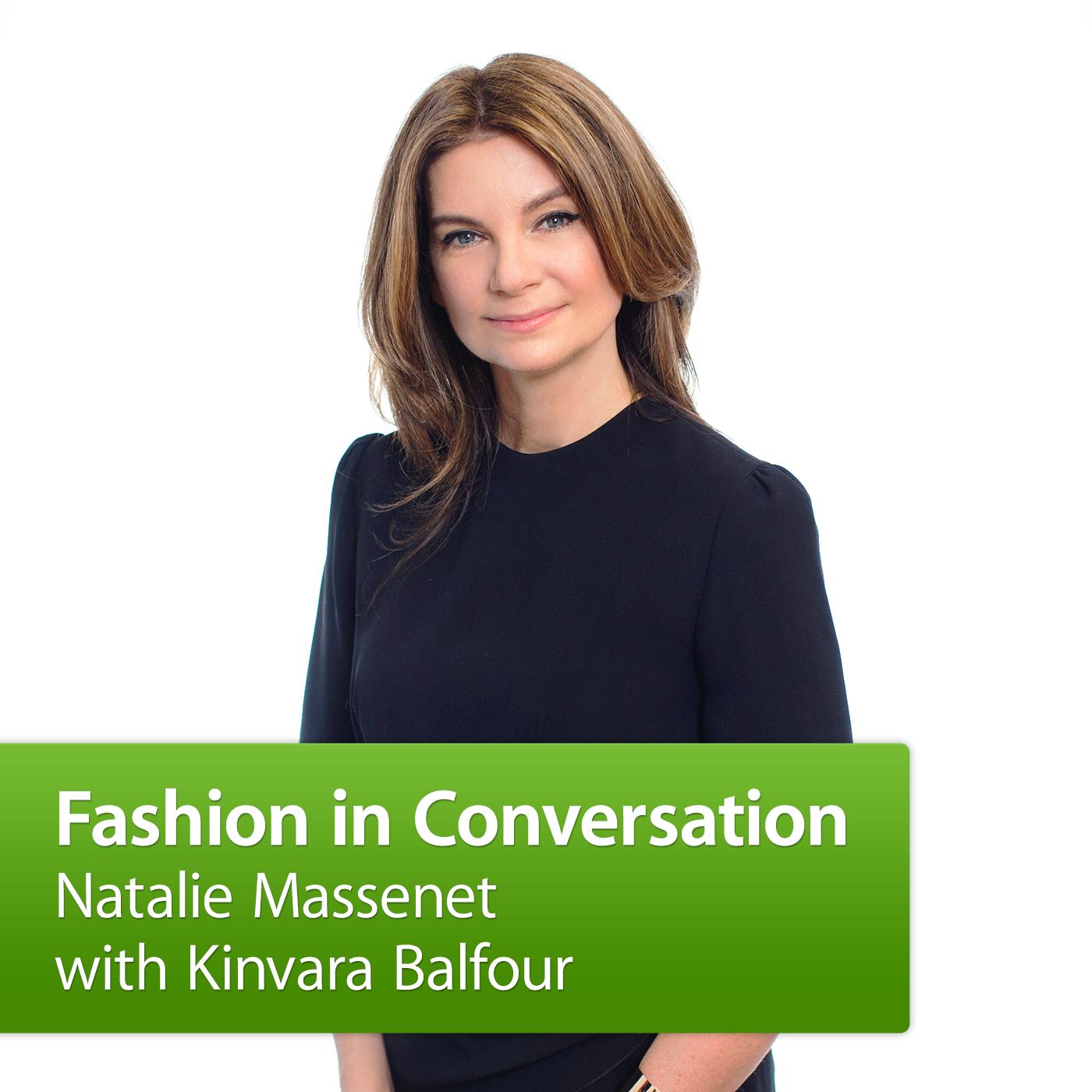 Natalie Massenet with Kinvara Balfour