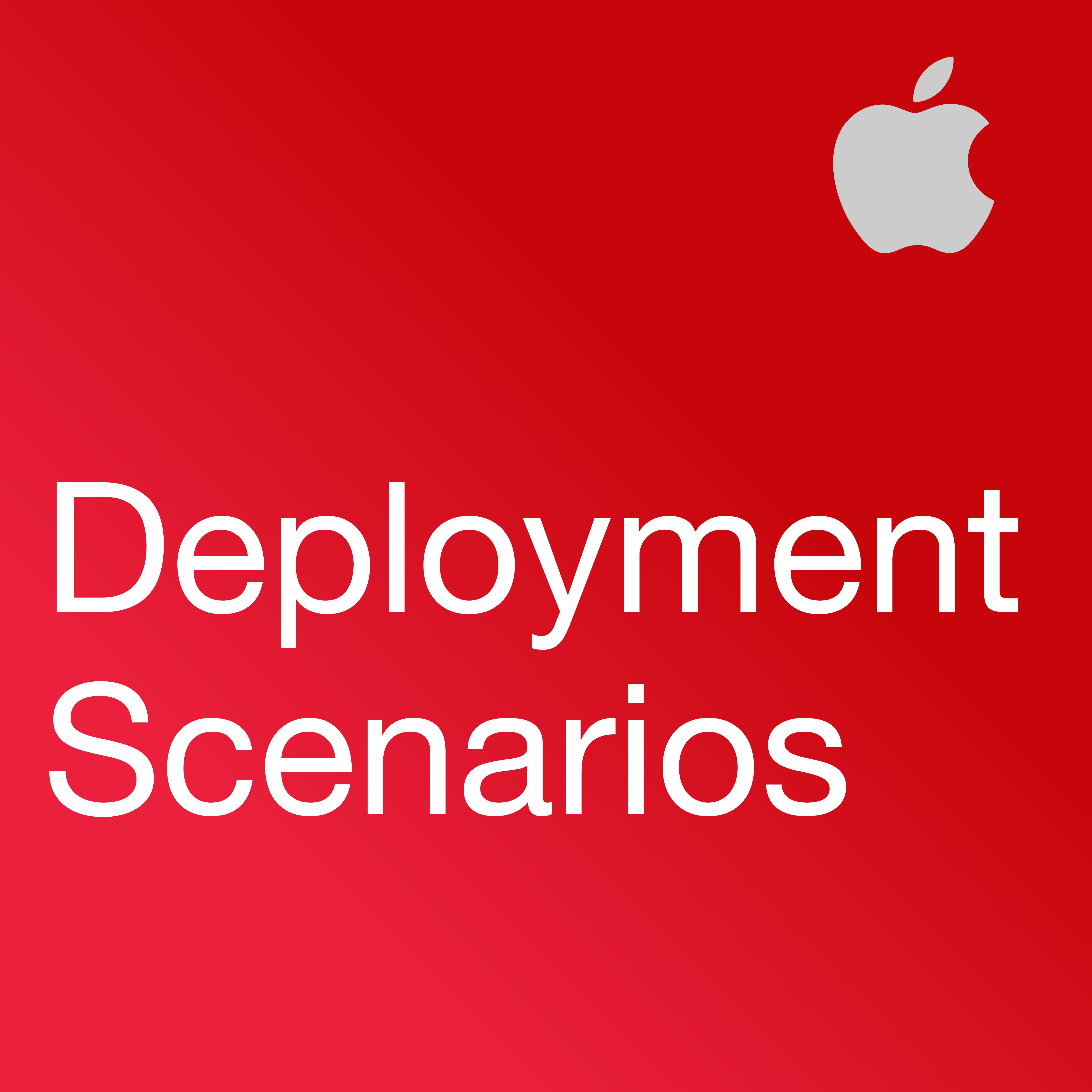 iPad in Business: Deployment Scenarios