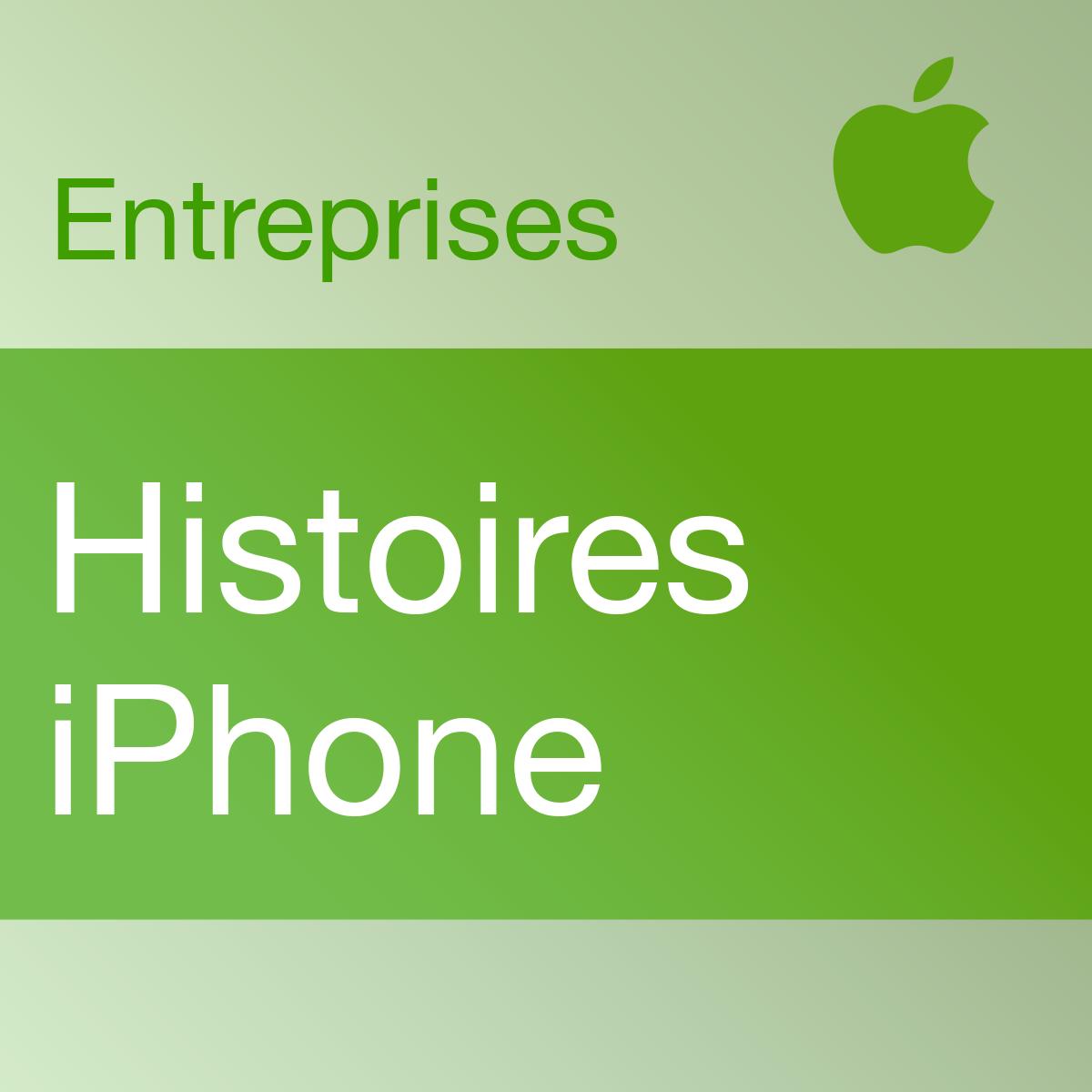 iPhone en entreprise: Témoignages de clients